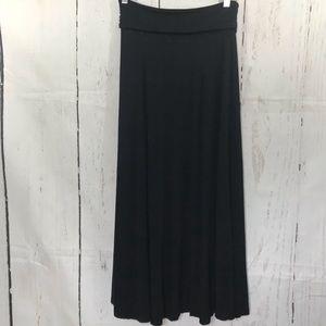 GAP Skirts - GAP black long flowy skirt